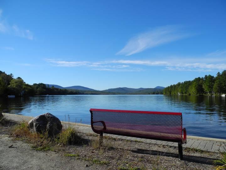 Wilson lake bench