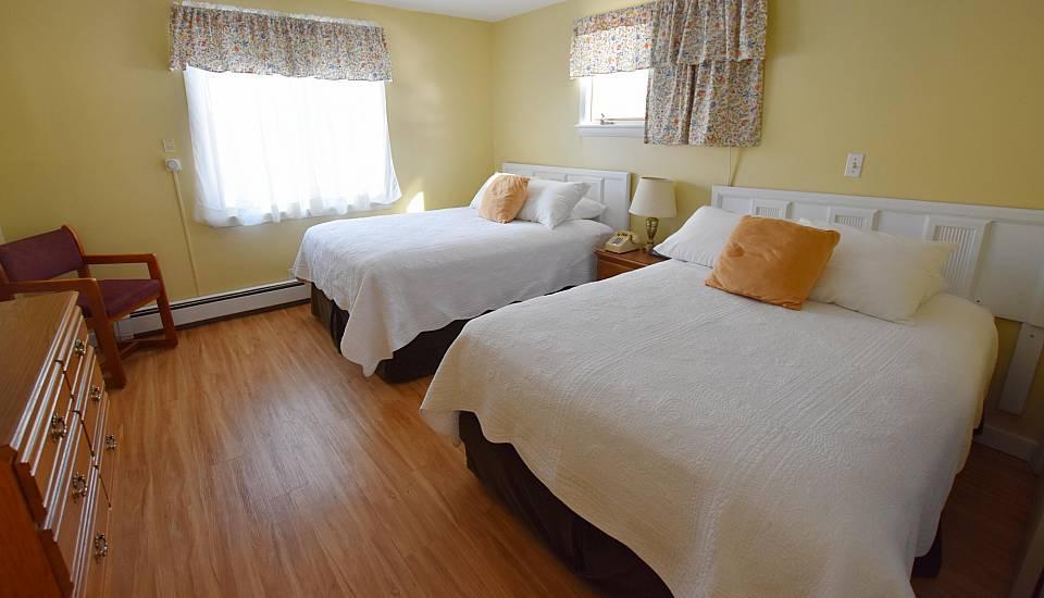 Two Bedroom Suites – First Floor