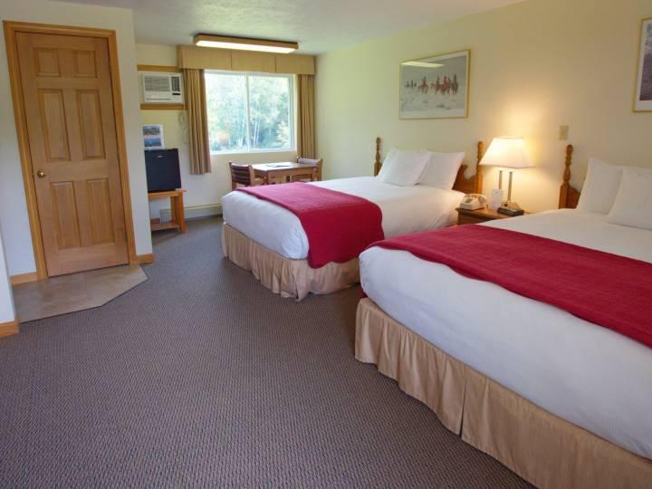 Second floor beds