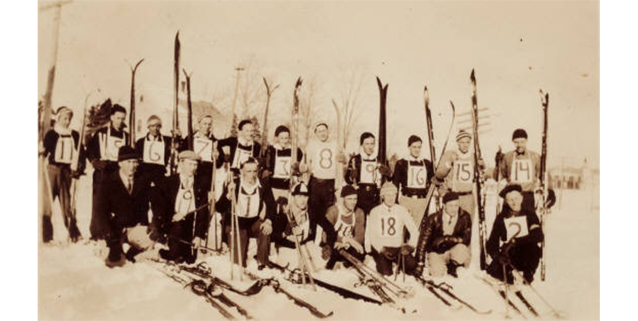 Chisholm Ski Club  - name that year? Click on the image to purchase the book written about Chisholm Ski Club!