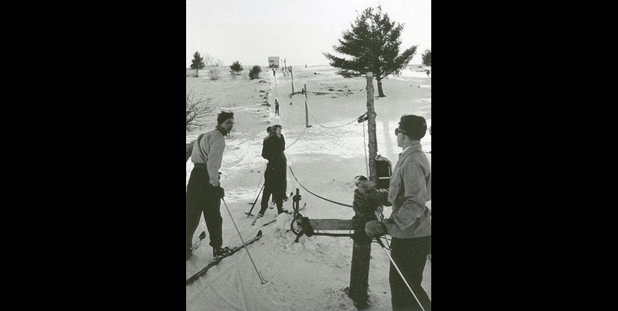 Ski rope tow at Titcomb