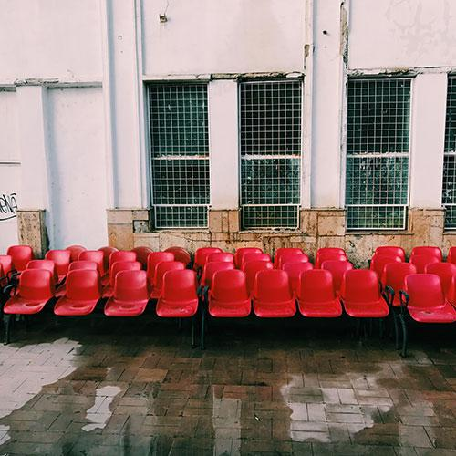 Chairs Outside