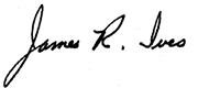 jim ives signature