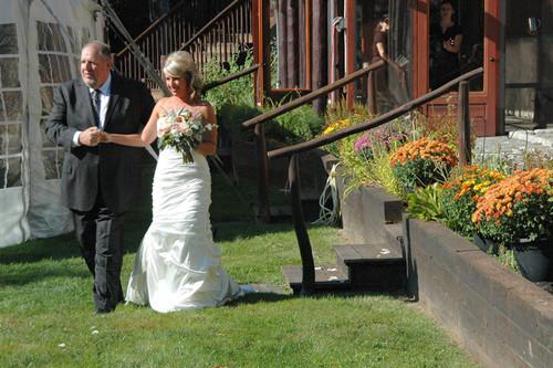 Bride w Dad