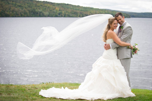 Couple w Lake n Veil