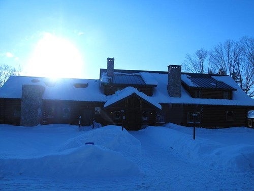 Winter Lodge w Sunflare