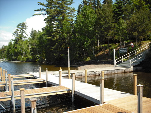Dock in Summer