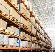 product stored in warehouse