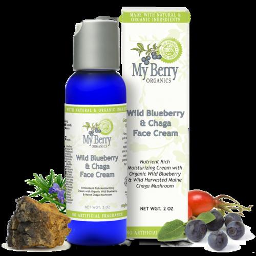 Wild Blueberry & Chaga Face Cream