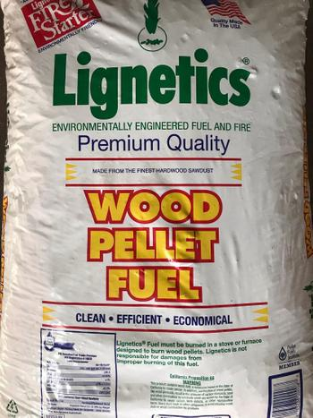 Lignetics wood pellets
