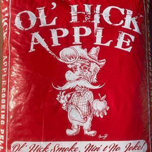 Ol' Hick Apple BBQ Pellets