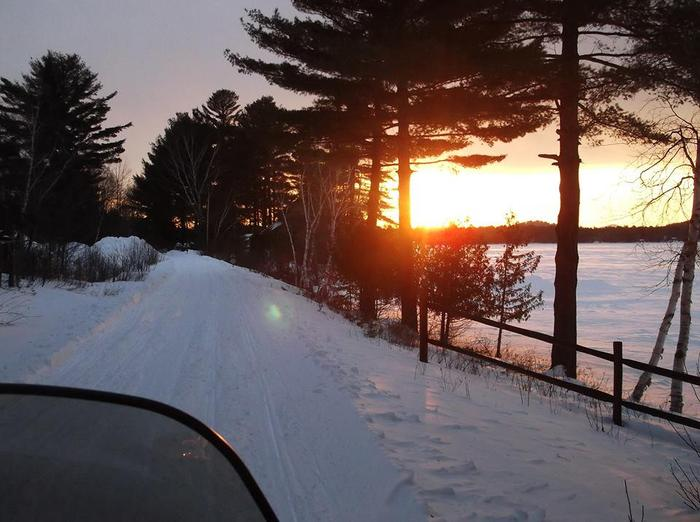 C7 Childwold Snowmobile Trail (Credit: St. Lawrence County Snowmobile Association)