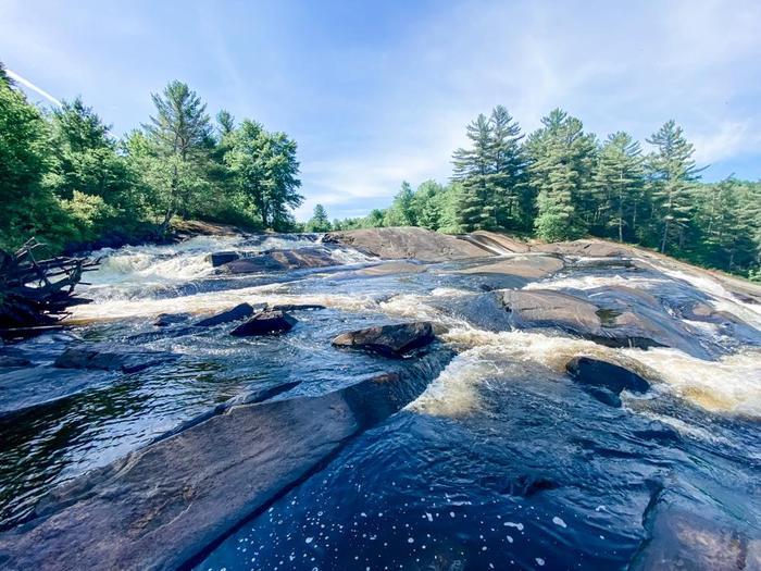Top of Lampson Falls (Credit: Julia Morse)