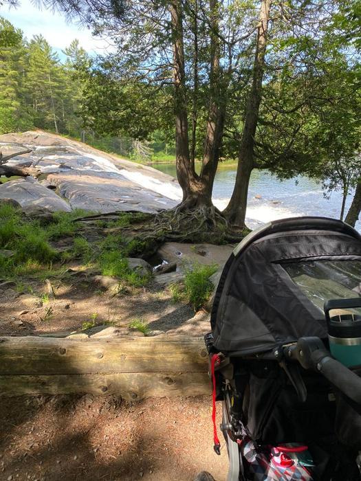 Stroller Friendly at Lampson (Credit: Julia Morse)