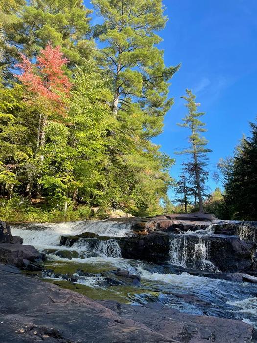 Waterfall on Beautiful Day (Credit: Chris Rediehs)