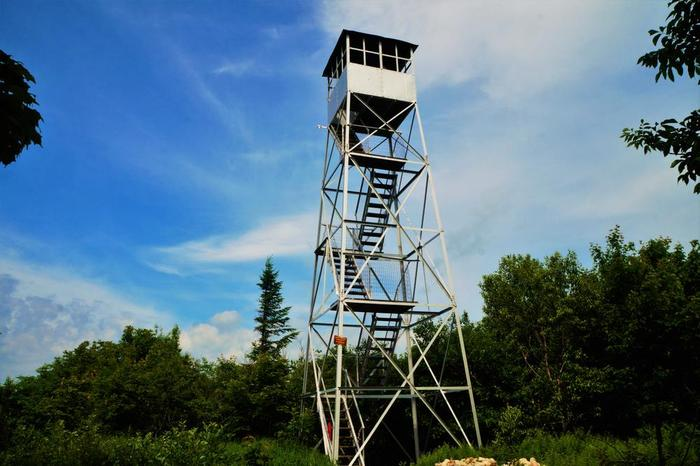 Azure mountain fire tower celebrated 100 years this summer (2018) (Credit: Wm Hill/Hiking the trail to yesterday)