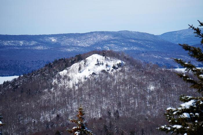 Goodman Mt from Coney Mt (Credit: WM Hill - Hiking the trail to yesterday)