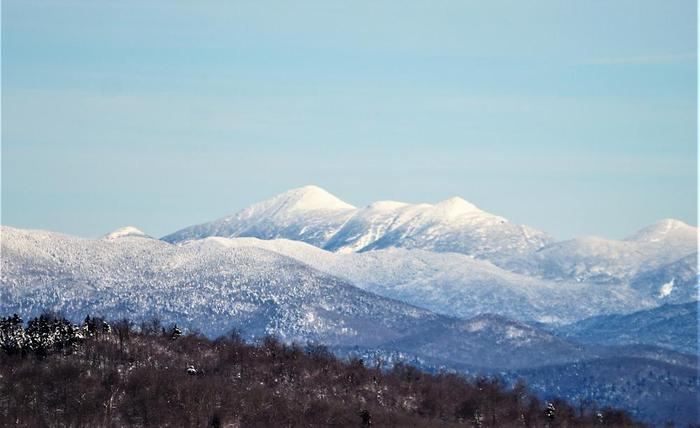 Some of the High Peaks from Coney Mt (Credit: WM Hill - Hiking the trail to yesterday)