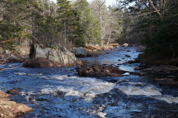 Downstream from Little Falls (Credit: Credit: Wm Hill- Hiking the trail to yesterday)