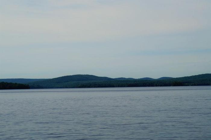 Views of the Pepperbox & Five Ponds wilderness areas from Cranberry Lake (Credit: Wm Hill- Hiking the trail to yesterday)