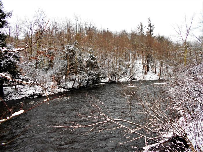Plumb Brook along the Brookside Trail (Credit: https://hikingthetrailtoyesterday.wordpress.com/)