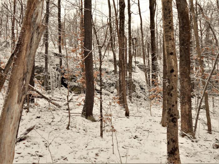 Rocky outcrops are common here. (Credit: https://hikingthetrailtoyesterday.wordpress.com/)
