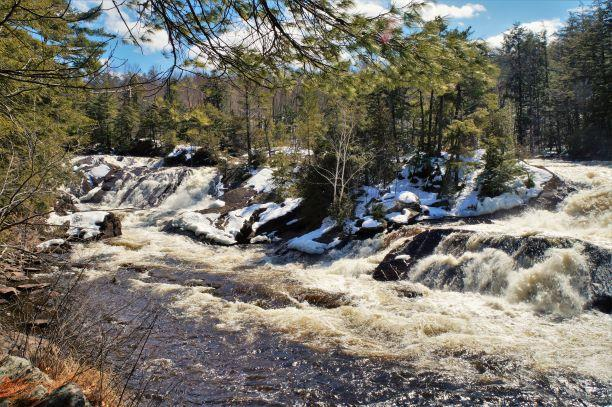 Spring thaw at Stone Valley (Credit: Wm Hill/Hiking the trail to Yesterday)
