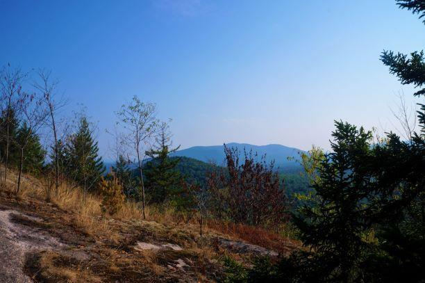 near the summit (Credit: Wm Hill/Hiking the trail to yesterday)