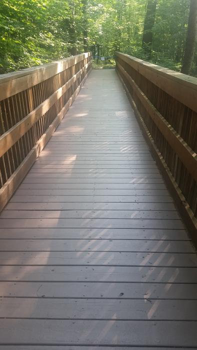 Accessible boardwalk (Credit: Nicandri Nature Center)