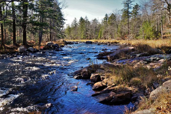 One of many views of the Oswegatchie river (Credit: Credit: Wm Hill- Hiking the trail to yesterday)