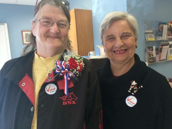 Carol and Marlene