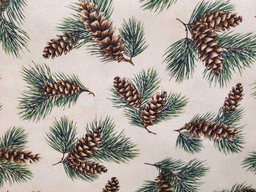 Maine Wildflower Pinecone