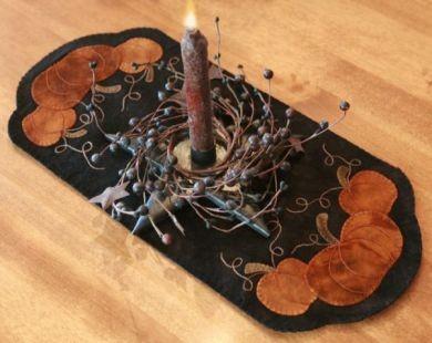 Pumpkin Trio Table Mat