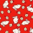 Storybook Baby Rabbit Red