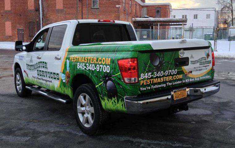 a pestmaster services truck