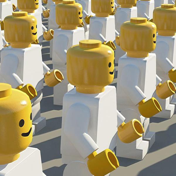 The Lego Crowd