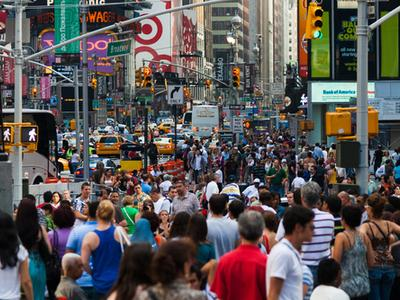 A New York crowd is an easy place to pick up pests