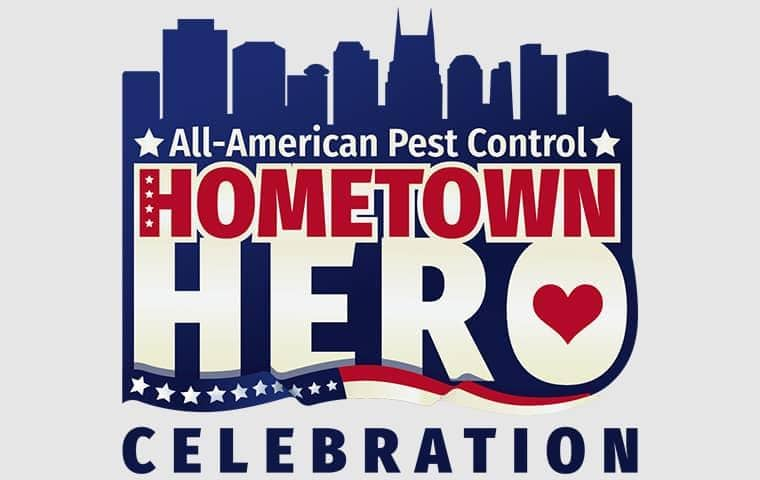 all-american pest control hometown hero celebration
