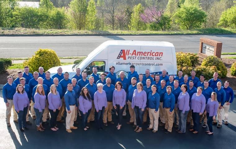 nashville tn pest control team at all-american