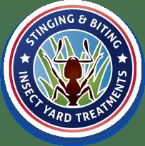 stinging and biting insect yard treatments logo